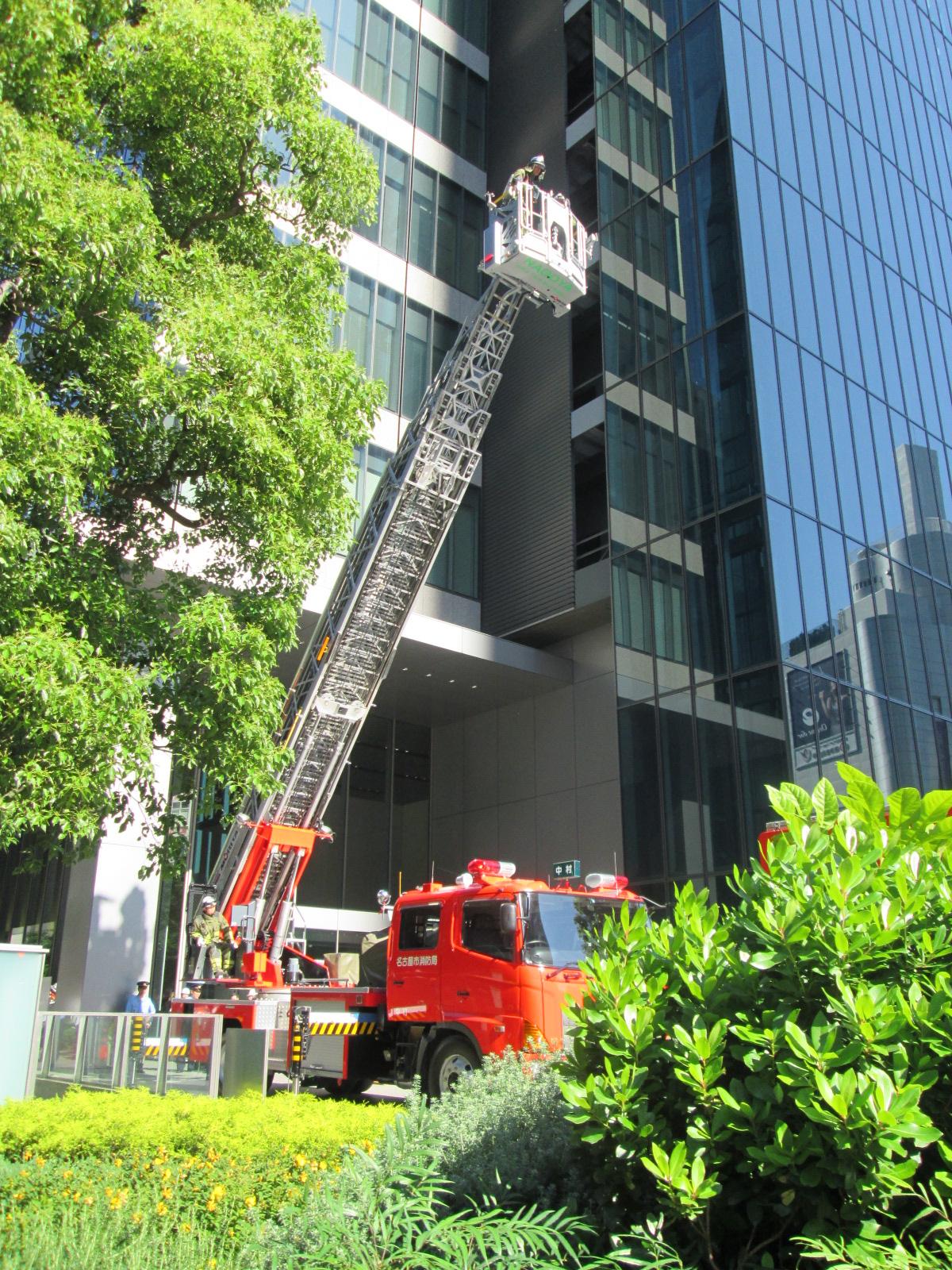 総合消防避難訓練